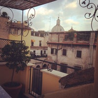Photo taken at Piazza di Monte Vecchio by Pink S. on 10/28/2013