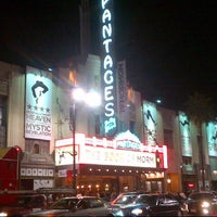 Photo taken at Pantages Theatre by DP on 10/19/2012