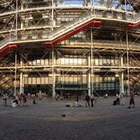 Photo taken at Place Georges Pompidou by Orkun E. on 7/10/2013