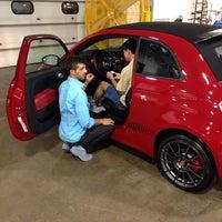Photo taken at Bergstrom FIAT of Milwaukee by Brandon D. on 7/1/2014