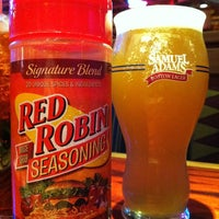 Photo taken at Red Robin Gourmet Burgers by Jason G. on 3/10/2013
