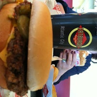 Photo taken at Fatburger by Jason G. on 1/18/2013