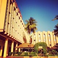 Photo taken at Azalai Hotel Independance Ouagadougou by kool__ on 12/6/2012