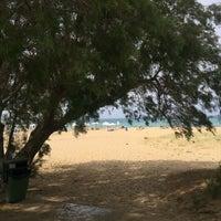 Photo taken at Potamos Beach by Chrissi E. on 5/24/2018