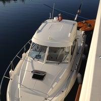 Photo taken at English Harbor by Burak G. on 10/15/2012