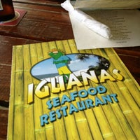 Photo taken at Iguanas Seafood Restaurant by Md B. on 3/19/2013