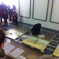 Photo taken at SMBA (Stedelijk Museum Bureau Amsterdam) by Florian W. on 9/15/2013