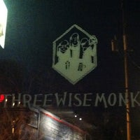 Photo taken at Three Wise Monks by Natalie L. on 12/13/2012