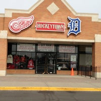 Photo taken at Hockeytown Authentics by Kelly B. on 3/9/2013