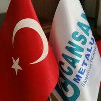 Photo taken at Cansan Metalurji San.Tic.Ltd.Sti. by Ahmet A. on 10/30/2015