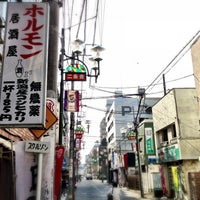 Photo taken at 二条通商店街 by BooNoButa on 3/9/2013