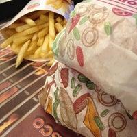 Photo taken at Burger King by Fernanda S. on 3/9/2013