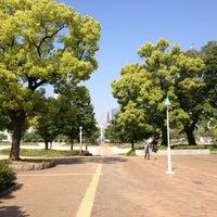 Photo taken at Ogimachi Park by Kazuya F. on 5/5/2013