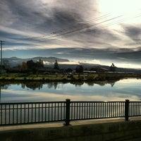 Photo taken at Napa River Inn by Jeff S. on 12/8/2012