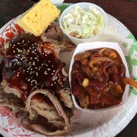 Photo taken at Hawi Chuckwagon Barbecue by Rene A. on 11/26/2013