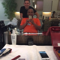 Photo taken at J.Melo Coiffeur by Cesar P. on 7/24/2015