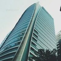 Photo taken at Ascendas Tower by Juan D. on 4/23/2014