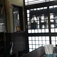 Photo taken at 指田うどん 水道道路店 by Taro K. on 3/28/2013
