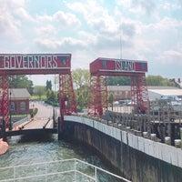 Photo taken at Governors Island - Pier 101 by Inga C. on 8/6/2016