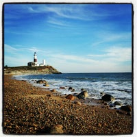Photo taken at Montauk Point Lighthouse by Alex P. on 12/14/2012