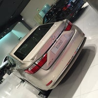 Photo taken at Lexus Showroom by Ali Shaban ا. on 5/13/2015