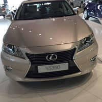 Photo taken at Lexus Showroom by Ali Shaban ا. on 3/31/2015