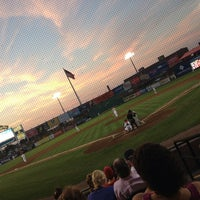Photo taken at Clipper Magazine Stadium by TD W. on 8/30/2013