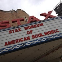 Photo taken at Stax Museum of American Soul Music by TD W. on 4/7/2013