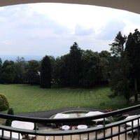 Photo taken at Falkenstein Grand Kempinski Hotel by Azamataka S. on 8/19/2016