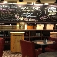 Photo taken at Toasted Oak Grill & Market by Shannon P. on 4/15/2013