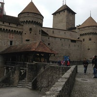 Photo taken at Château de Chillon by Clément M. on 4/7/2013