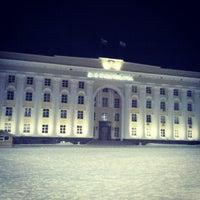 Снимок сделан в Площадь Ленина пользователем Екатерина Е. 2/19/2013