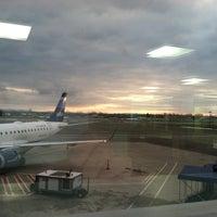 Photo taken at Syracuse Hancock International Airport (SYR) by Sara M. on 1/14/2013