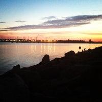 Photo taken at Пляж в Парке 300-летия by Ira G. on 5/28/2013