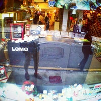 Photo taken at Lomography Gallery Store by Togusa C. on 11/28/2013