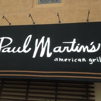 Photo taken at Paul Martin's American Grill by Jay M. on 4/22/2013