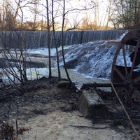Photo taken at Old Ruined Water Mill by Joe T. on 2/3/2014