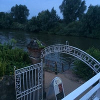 Photo taken at Diglis House Hotel by Robert T. on 8/5/2014