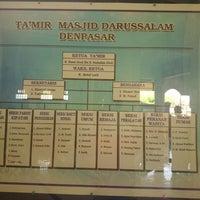 Photo taken at Masjid Darussalam Ubung Denpasar by Abee O. on 7/11/2014