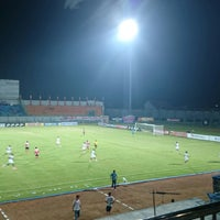 Photo taken at Stadion Gelora Bangkalan by Abee O. on 4/23/2014