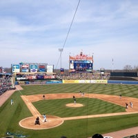 Photo taken at Coca-Cola Park by Nick B. on 4/7/2013