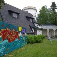 Photo taken at Gallen-Kallelan museo by Paul F. on 6/19/2016