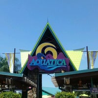 Photo taken at Aquatica, SeaWorld's Waterpark Orlando by Mrs. F. on 5/9/2013