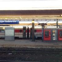 Photo taken at Stazione Reggio Calabria Centrale by Thé Kyu Y. on 10/14/2012