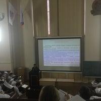 Photo taken at Учебный военный центр ПМГМУ им. И.М. Сеченова by Мария П. on 2/15/2016