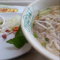 Photo taken at Pho 24 by Selin S. on 6/25/2013