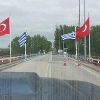 Photo taken at Greece Kipoi Border Station by Yeliz A. on 8/14/2013