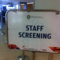 Photo taken at Airport Security Command by Hunny B. on 11/7/2012