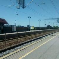 Photo taken at Rygge stasjon by Joshué P. on 6/5/2016