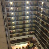 Photo taken at Embassy Suites by Hilton Indianapolis Downtown by Felix C. on 4/20/2013